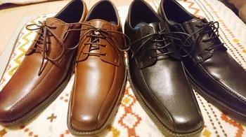 伊藤忠ファミリーセールのメンズ革靴.JPG